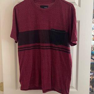 Men's Hurley shirt with pocket